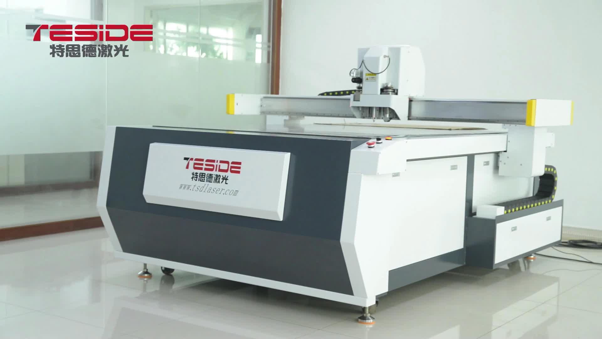 TSD-HC1310 Digital Draw Knife Pattern Cutting Machine for Corrugated Carton Cutting