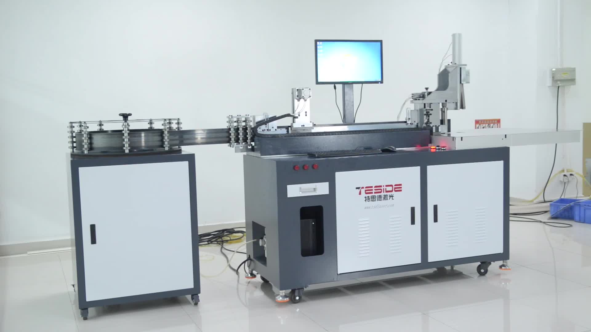 Customized TSD-850 Auto Blade Bending Machine for 100-150MM Height Rule Processing